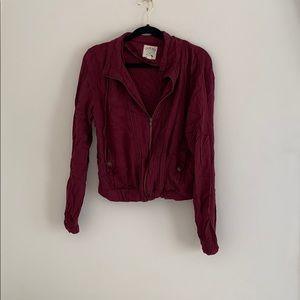 LA hearts bomber jacket
